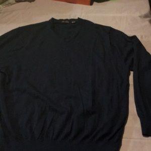 Navy men's IZOD sweater XXlarge